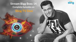 Watch Bigg Boss 14 on Sling TV